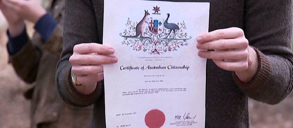 قانون الجنسية الاسترالية