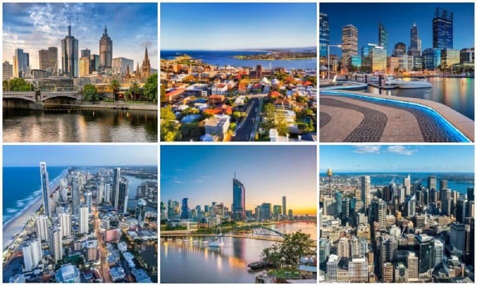 اكبر مدينة في استراليا من حيث عدد السكان