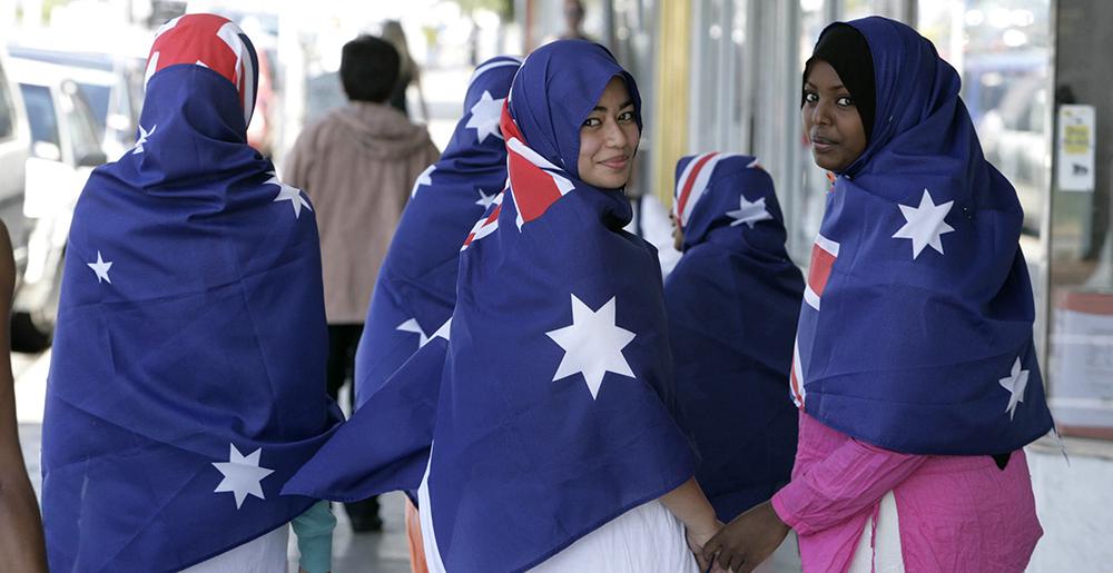 العيش في استراليا للمسلمين