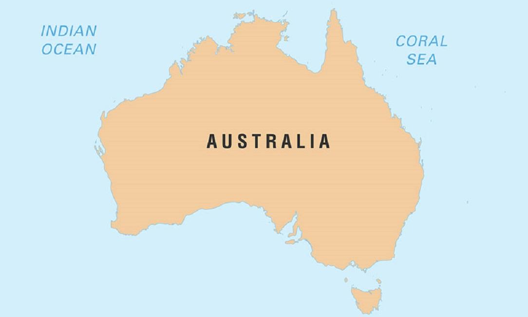 كم تبلغ مساحة قارة استراليا