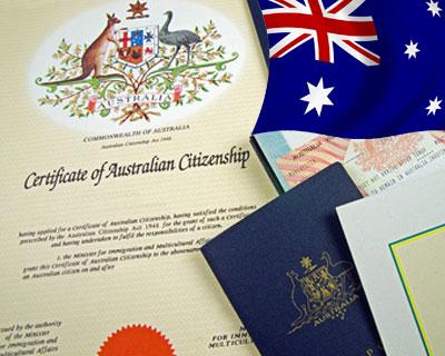 الاقامة الدائمة باستراليا