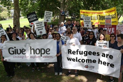 الحياة في استراليا للاجئين