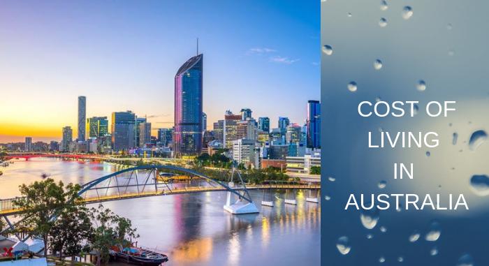 تكاليف المعيشة في استراليا