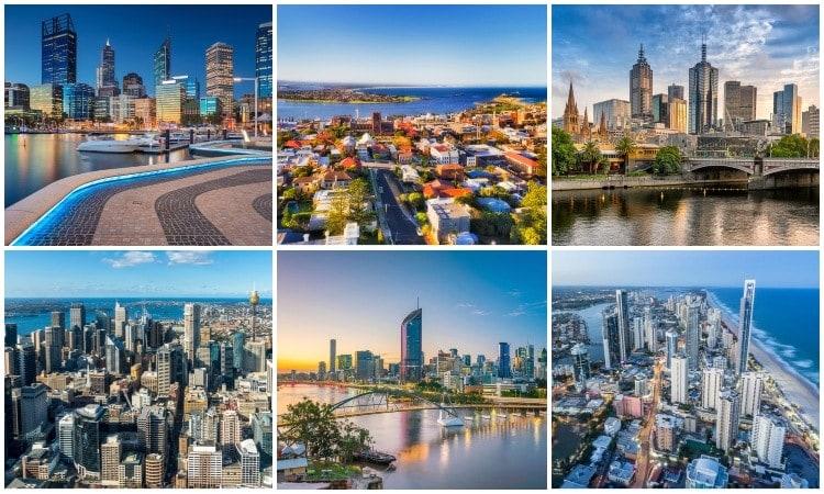 اكبر واقدم مدينه في استراليا