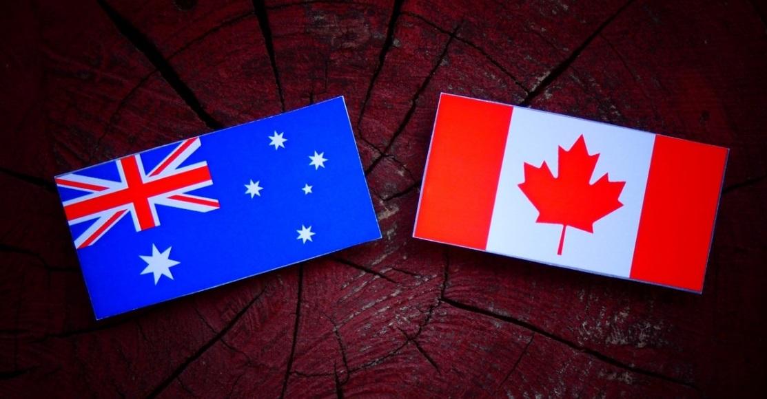 كندا و استراليا