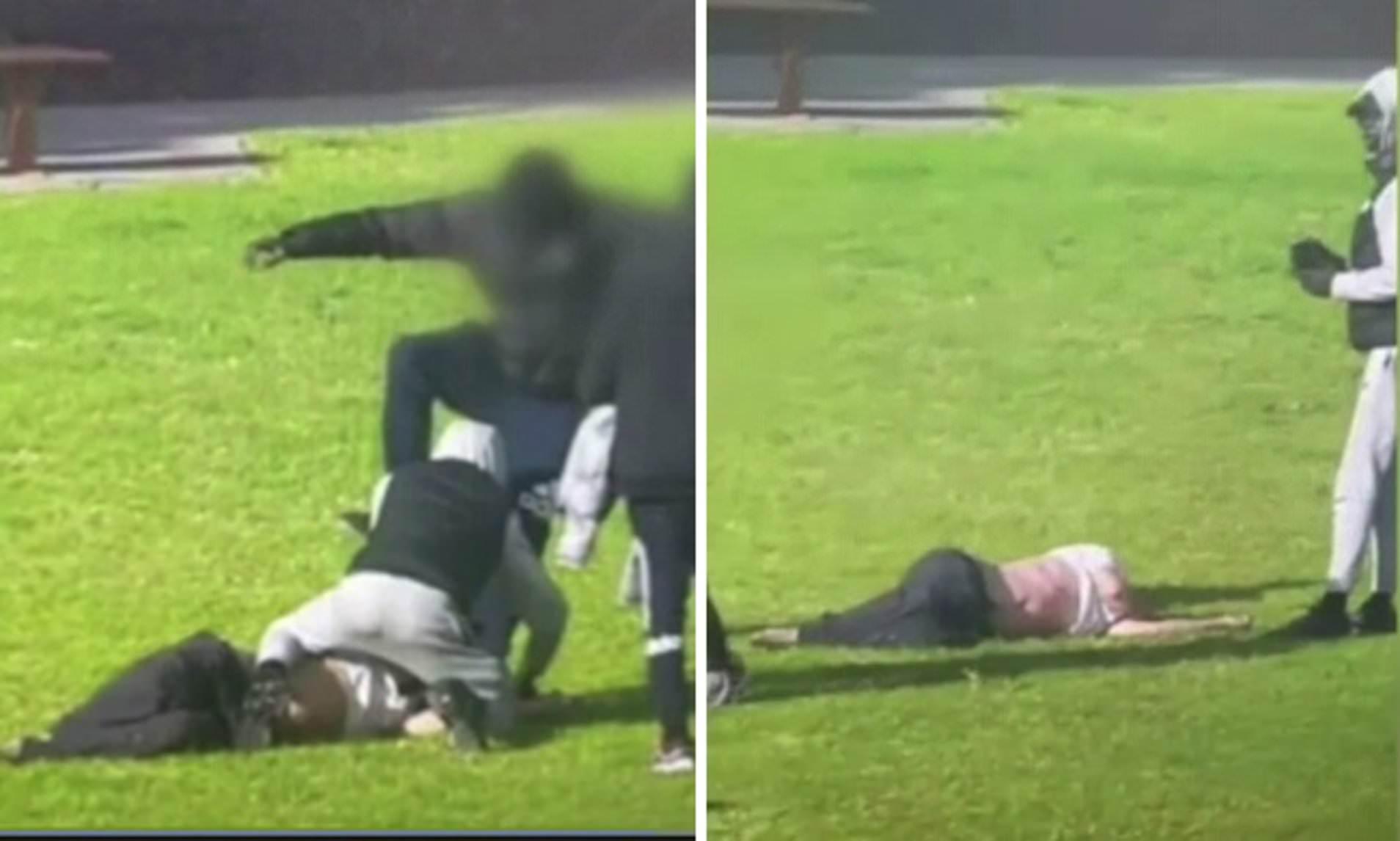 فيديو: اعتداء وحشي بالضرب على رجل أعمى في ملبورن