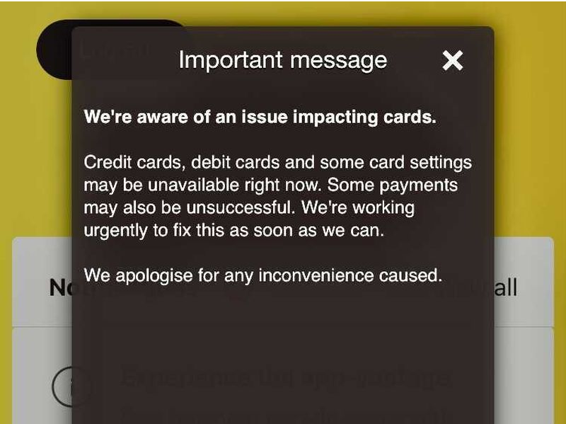 مشكلة تقنية تمنع عملاء بنك Commonwealth من الوصول إلى بطاقاتهم الائتمانية