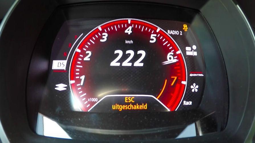 شرطة فيكتوريا توقف شاباً يقود بسرعة 222 كيلومتراً في الساعة!
