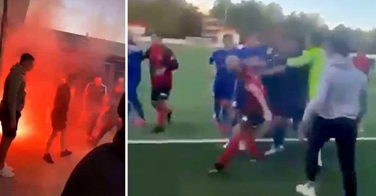 استدعاء الشرطة إلى شجار في مباراة كرة قدم انتهى بطعن رجلين في سيدني