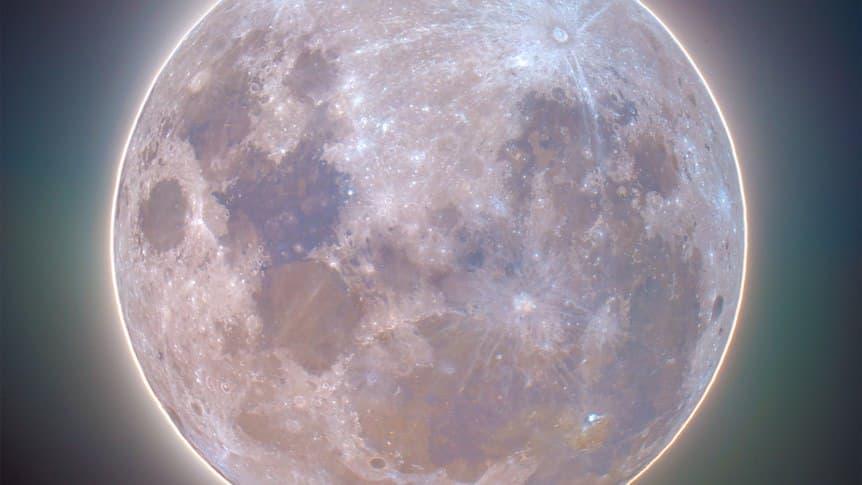 """ظاهرة قمر أبريل """"الوردي"""" تتألق في سماء أستراليا"""