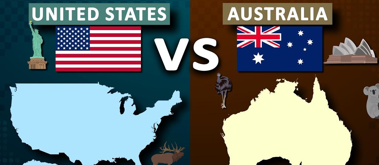 الضرائب في أستراليا مقارنةً مع أميركا