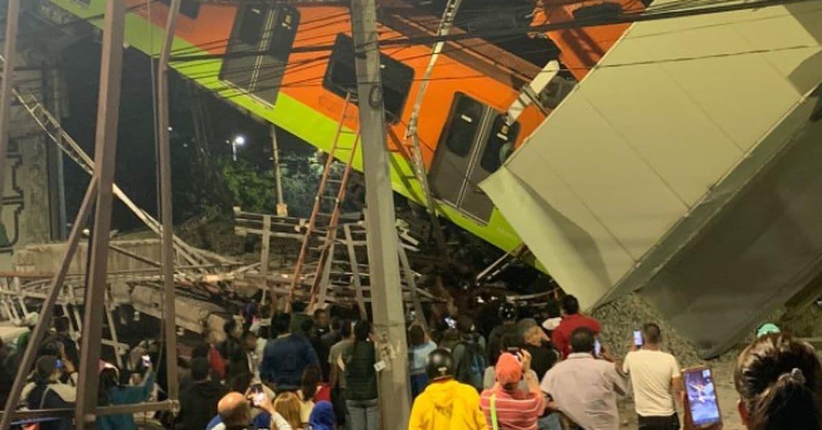 مقتل 24 شخصاً وإصابة 77 آخرين في انهيار مترو أنفاق في المكسيك