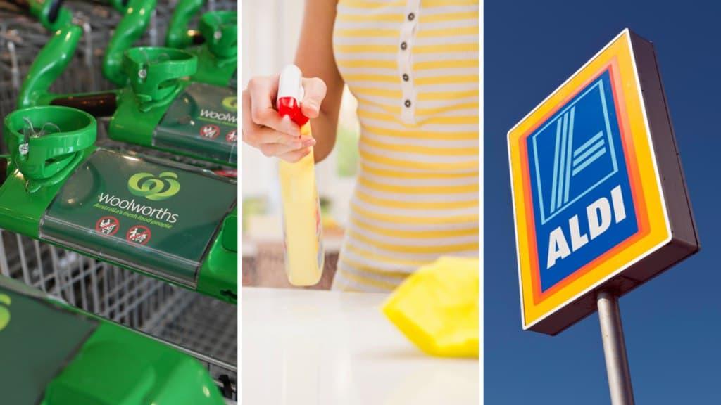 تصنيف منتجات Woolworths و ALDI ضمن أفضل منتجات التنظيف في أستراليا لعام 2021