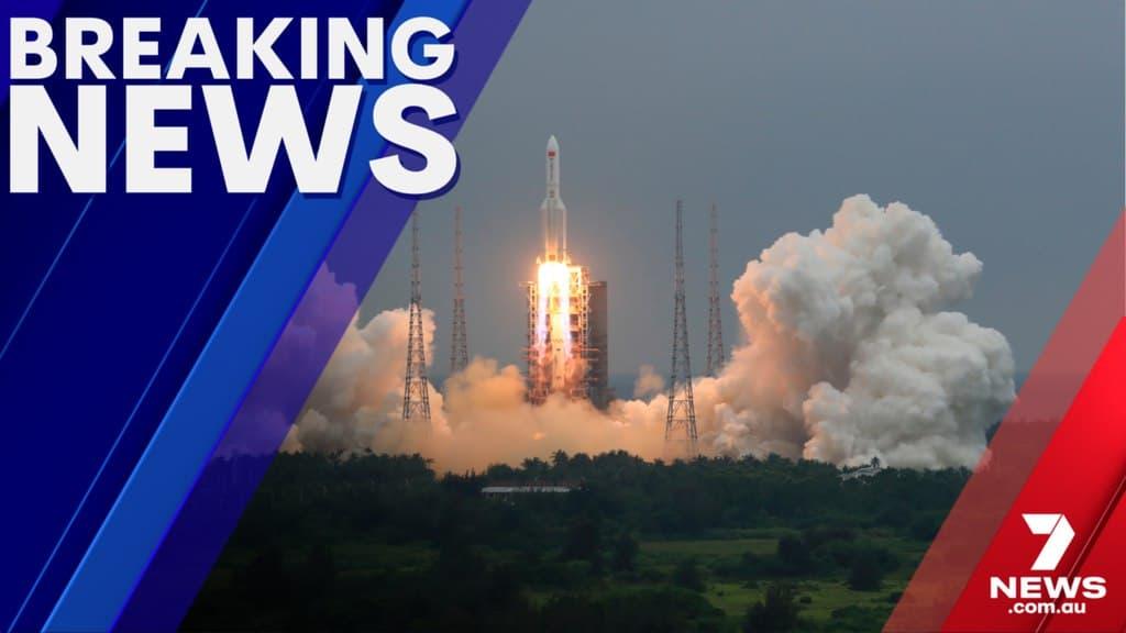 الصاروخ الصيني التائه يسقط أخيراً
