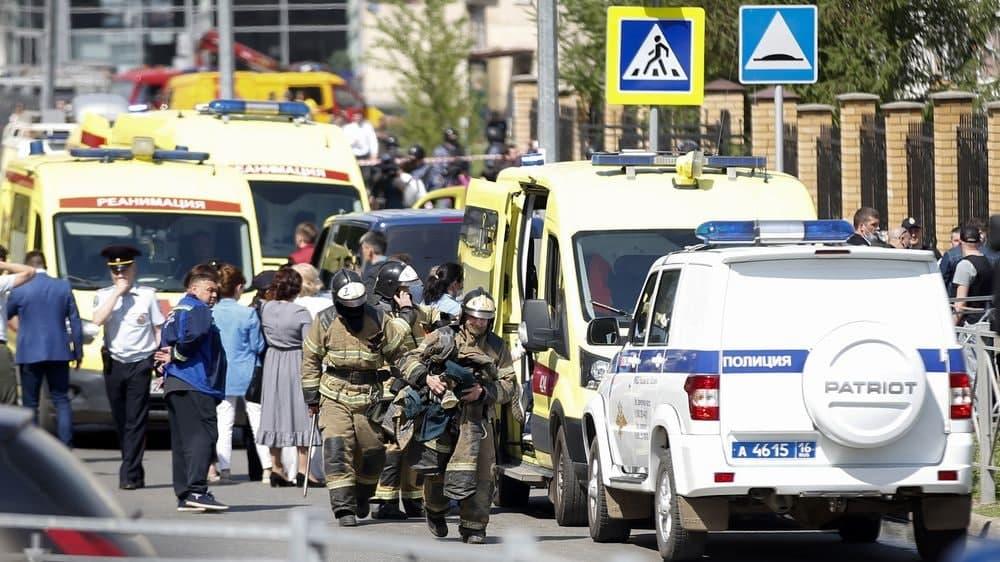 مقتل 11 شخصاً معظمهم طلاب في إطلاق نار ضمن إحدى مدارس روسيا