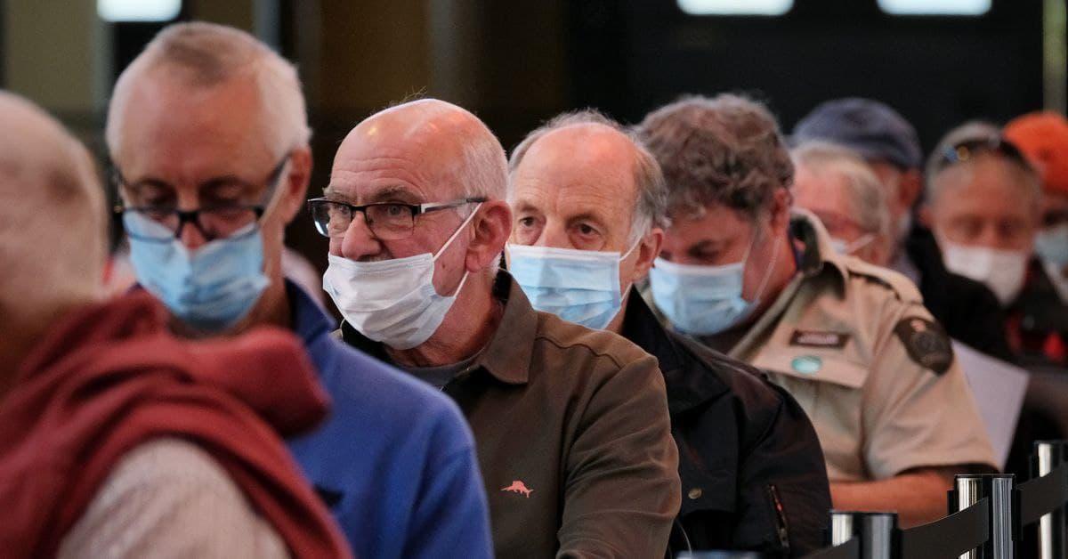بدء تطعيم الأشخاص الذين يزيد عمرهم عن 50 عاماً في أستراليا