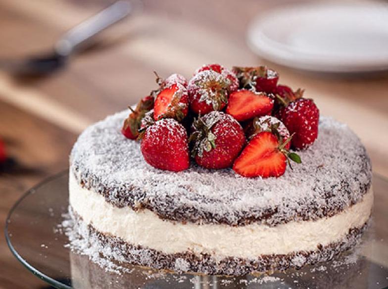 معلومات عن استراليا بالصور كعكة لامينجتون