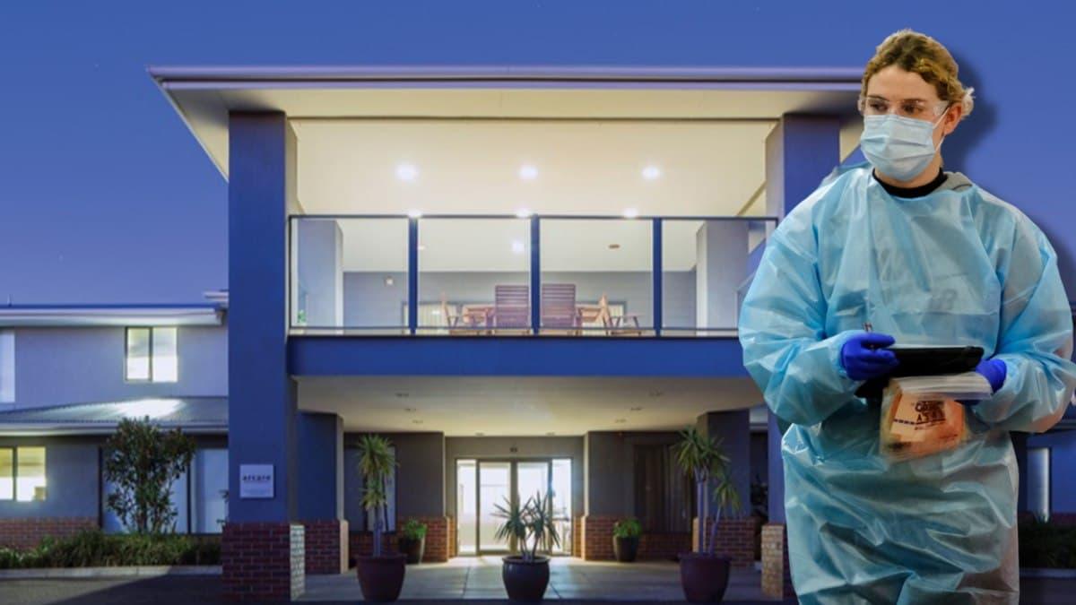 إصابة عامل في دار رعاية مسنين بفيروس كورونا في ملبورن