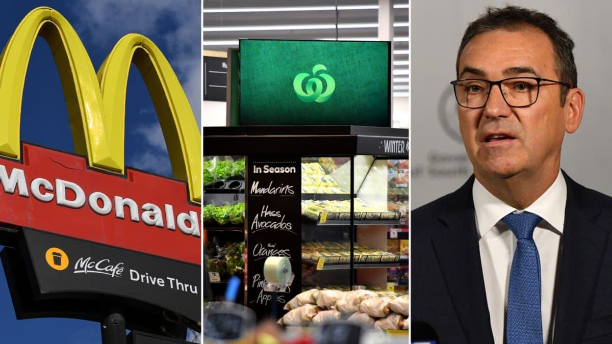 إضافة ماكدونالدز و Woolworths ومدرستين إلى قائمة مواقع التعرض لفيروس كورونا في أديلايد